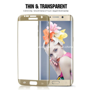 3D Curved Cover Phone Accessories Tempered Glass for S7 Edge Accessory pictures & photos