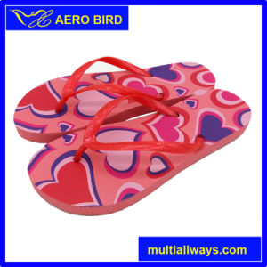 New Design Colorful Print Fashion Slippers for Fashion Girls pictures & photos