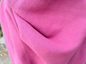 Linen Viscose Blend Fabric for Dress Lightweight Solid Dyed Finished
