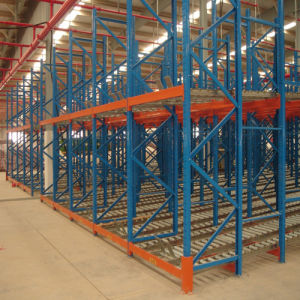 Heavy Duty Gravity Warehouse Storage Pallet Racking pictures & photos