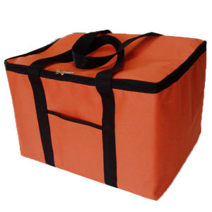 Promotional Custom Printed Large Non Woven Insulated Cooler Bag (LJ-372)
