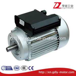 Single Phase Asynchronous Motor with Starting Capacitor, Aluminum Housing pictures & photos