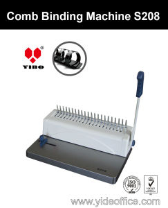 Mini A4 Size Comb Binding Machine (S208) pictures & photos
