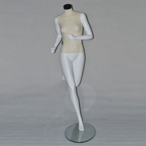 Sport Running Women Female Mannequin with Glass Base pictures & photos