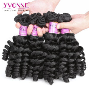 Real Human Hair Extension Top Grade Virgin Fumi Hair pictures & photos