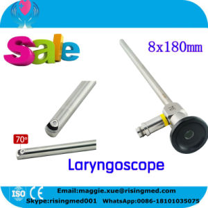 Ce ISO Rigid Laryngoscope Laryngendoscope Ent Endoscope 18 Months Warranty pictures & photos