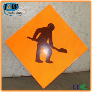 Plastic Traffic Road Sign / Portable Warning Traffic Sign pictures & photos