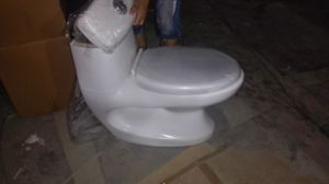 Bathroom Cheap Price Washdown P-Trap Toilet pictures & photos