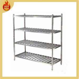 Hotel Kitchen Stainless Steel Storage Shelves Rack for Warehouse pictures & photos