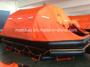 Marine 20 Persons Throw Overboard Inflatable Life Raft pictures & photos