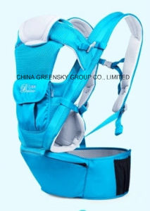 Outdoor Portable Blue Baby Carrier/Sling pictures & photos