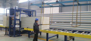 Cold Room PU Sandwich Panel with Cam Lock pictures & photos
