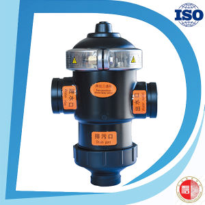 Self-Cleaning Backwash Factory Price Nylon Material 3 Way Valve pictures & photos