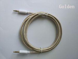 Audio Cable 3.5mm Braided Nylon Stereo Audio Cable pictures & photos