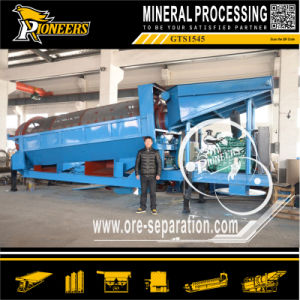 Gold Ore Trommel Washing Plant Gold Extracting Machine