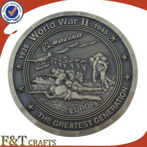 Custom Challenge Souvenir Antique 3D Engraved Metal Coins (FTCN1957A) pictures & photos