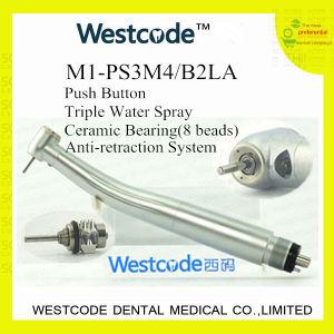 M1-PS3m4/B2la LED Push-Button High Speed Dental Handpiece