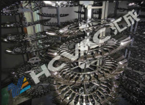 Disposable Plastic Fork/Spoon Silver Vacuum Metallizing Machine pictures & photos