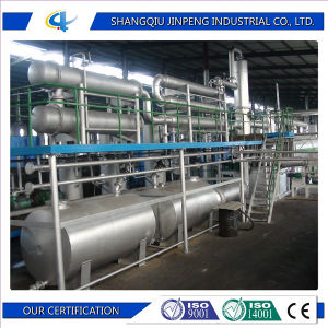 Waste Tyre Retread Pyrolysis Plant for Fuel Oil pictures & photos