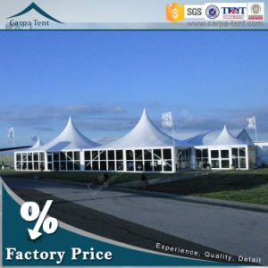 5m X 5m Carpa Outdoor Event Pagoda with Tempered Glass Walls in China pictures & photos