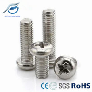 304 316 Stainless Steel Pan Head Machine Screw