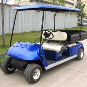 4 Seats Non Slip Tyres Electric Hunting Car with Motor (DH-C2+2) pictures & photos