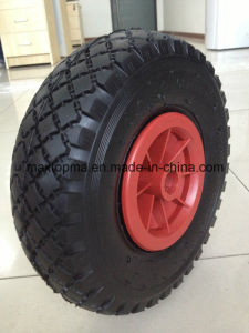 300-4 Plastic Rim Air Rubber Wheel pictures & photos