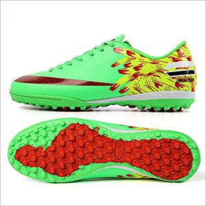 Football Shoes Broken Nail Children Non Slip Training Shoes (AK2019-2C) pictures & photos