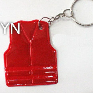 Red Vest Reflective Key Chain pictures & photos