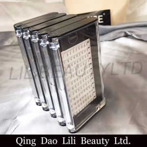 Private Label Magnetic Pre Made Fans Eyelashes 3D Russia Volume Lashes pictures & photos
