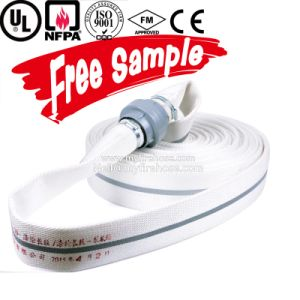 1 Inch Canvas Double Jacket Fire Sprinkler Flexible Hose PU Pipe pictures & photos