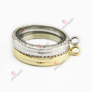 Wholesale Customized 38mm Round Lockets Pendant Jewelry for Necklace (RLJ222-226) pictures & photos