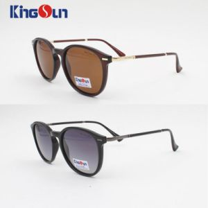 New Coming PC Sunglasses with AC Lens Ks1134 pictures & photos