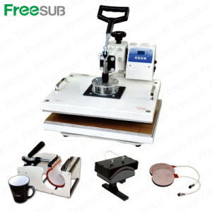 5 in 1 T Shirt Heat Press Machine pictures & photos