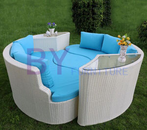 Aluminium Outdoor Curved Sofa New Design Garden Set pictures & photos