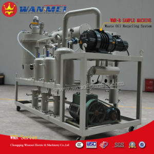 Waste Oil Recycling Plant with Vacuum Distillationto Basic Oil and Diesel Oil