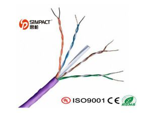 23 AWG PVC Jacket UTP CAT6 LAN Cable pictures & photos