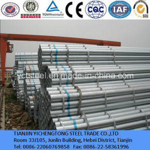 10# 20# Threaded Galvanized Steel Pipe and Tube pictures & photos