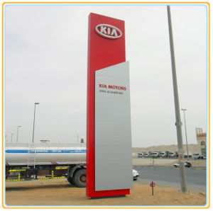 Outdoor Freestanding Pylon Sign Board pictures & photos