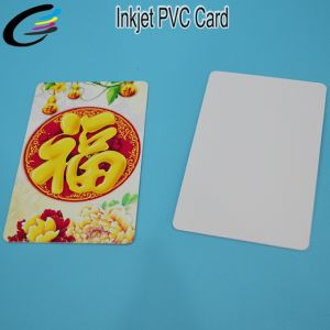 Wholesale White Inkjet PVC Blank Card From China Factory pictures & photos