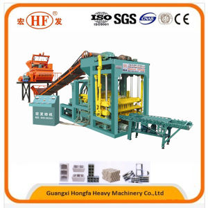 Automatic Small Scale Hfb546m Block Making Machine Brick Forming Machine pictures & photos