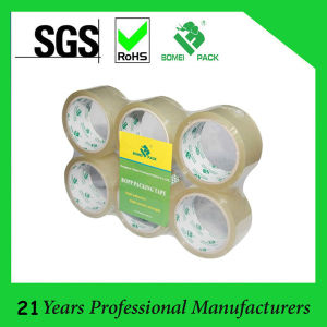 Strong Adhesive Cheap BOPP Packaging Tape for Sealing with Logo pictures & photos