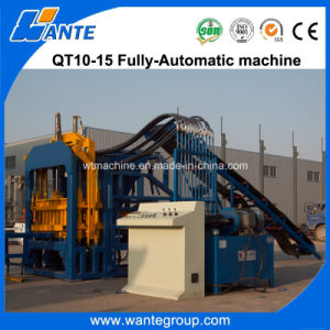 Qt10-15 Automatic Concrete Paver Block Making Machine pictures & photos