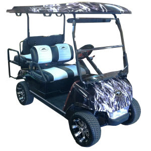 Customized Color Golf Cart Golf Trolley 2+2seat pictures & photos