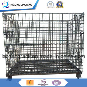 Collapsible Galvanized Wire Mesh Bins Made in China pictures & photos