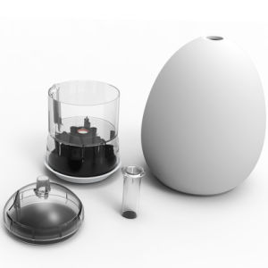 Aroma Diffuser with Glass Cover (GL-1012-A-1) pictures & photos