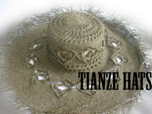 Twist Paper Cowboy Straw Hat′s Hat Body pictures & photos