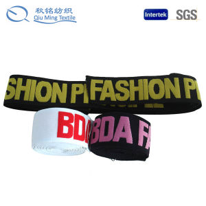 New Design High Quality Elastic Customized Jacquard Elastic Band pictures & photos