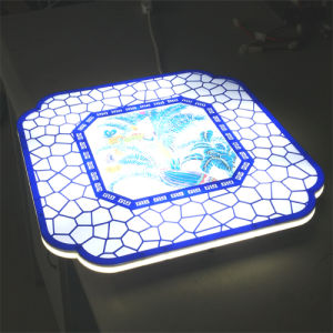 Artistic Style Light Dimmable LED Ceilng Light Panel