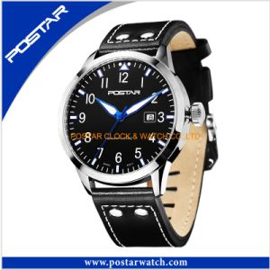 Manly Design Big Face Mens Cool Watch Japan Quartz Watcher pictures & photos